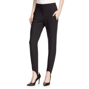 Halston Heritage Wool-Blend Stretch Stirrup Pants